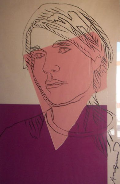"""Limited Edition Print """"Self Portrait II.156A (as a young man) 1978"""" by Andy Warhol"""