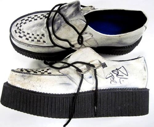 48a97ac874f7 Billie Joe Armstrong s signed and very much used creepers