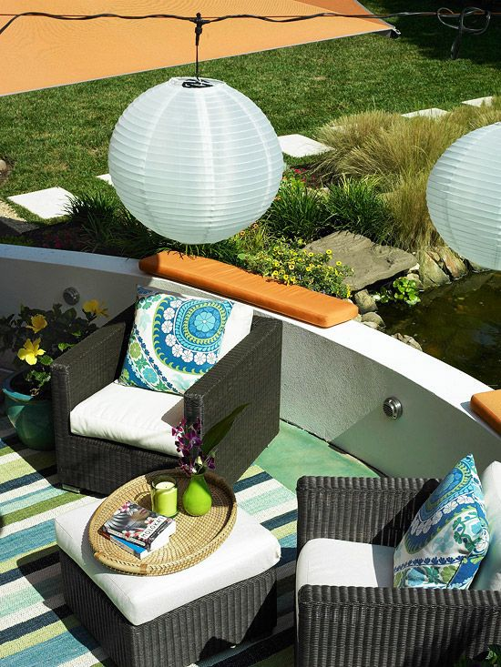 Outdoor Room Decorating Ideas Oasis, Backyard and Outdoor spaces
