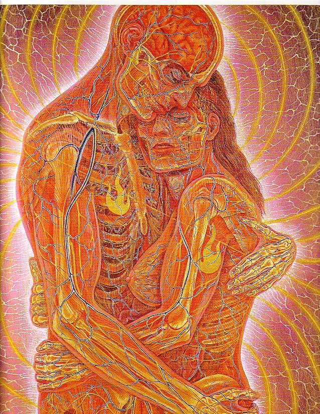 Luke Pranay S Photos On Alex Grey Alex Gray Art Spiritual Art