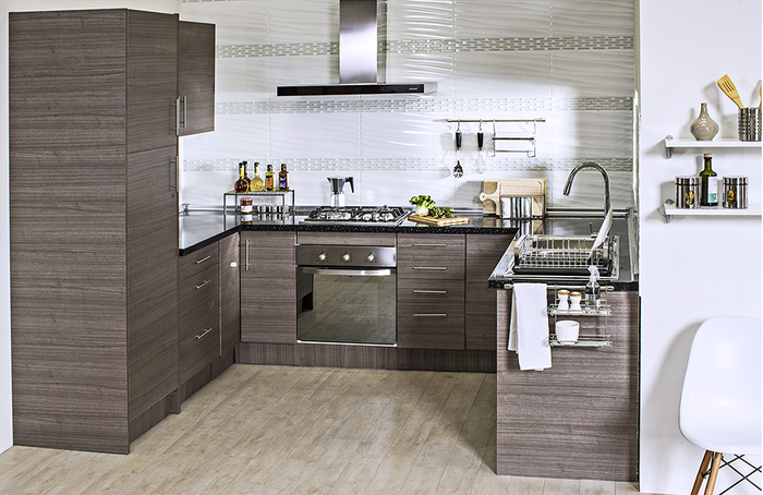 Home collection mueble base 2 puertas 100 x 60 cm teka for Muebles de cocina homecenter