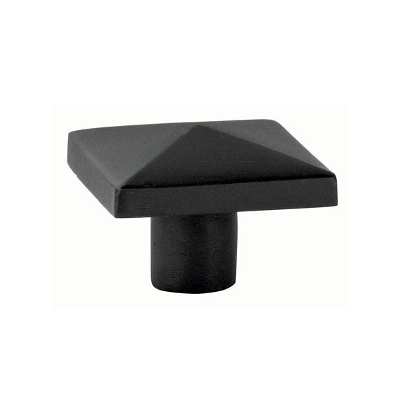 square black cabinet knobs. Emtek 86145 Square 1 Inch Cabinet Knob From The Rustic Collection Flat Black Hardware Knobs E