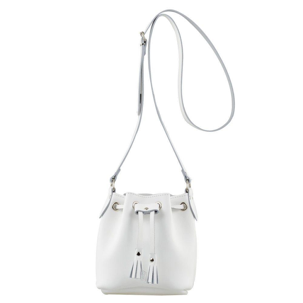 Mini Bucket Bag White From Grafea Ltd Uk