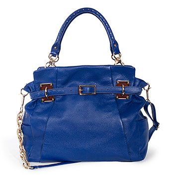 Elliott Lucca Cordoba Box Tote, Aegean - Ascending Butterfly features a 'Featured Handbag in the Spotlight Each Month for Review and Giveaway!' - http://www.ascendingbutterfly.com