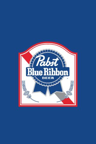 Pabst Blue Ribbon Iphone Wallpaper Pabst Blue Ribbon Iphone Wallpapers Drink Ribbon Logo