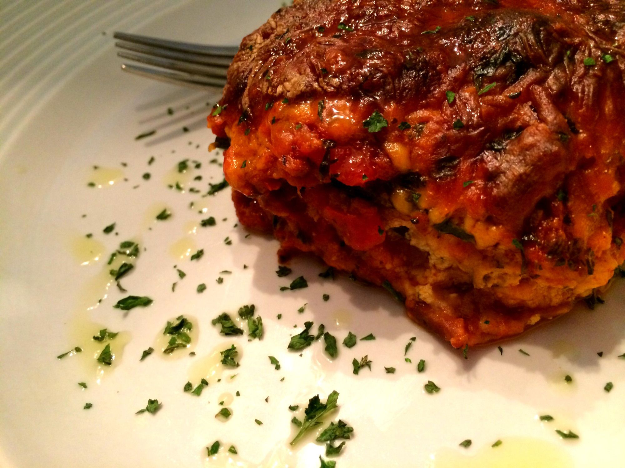 Pasta Free Turkey Lasagna
