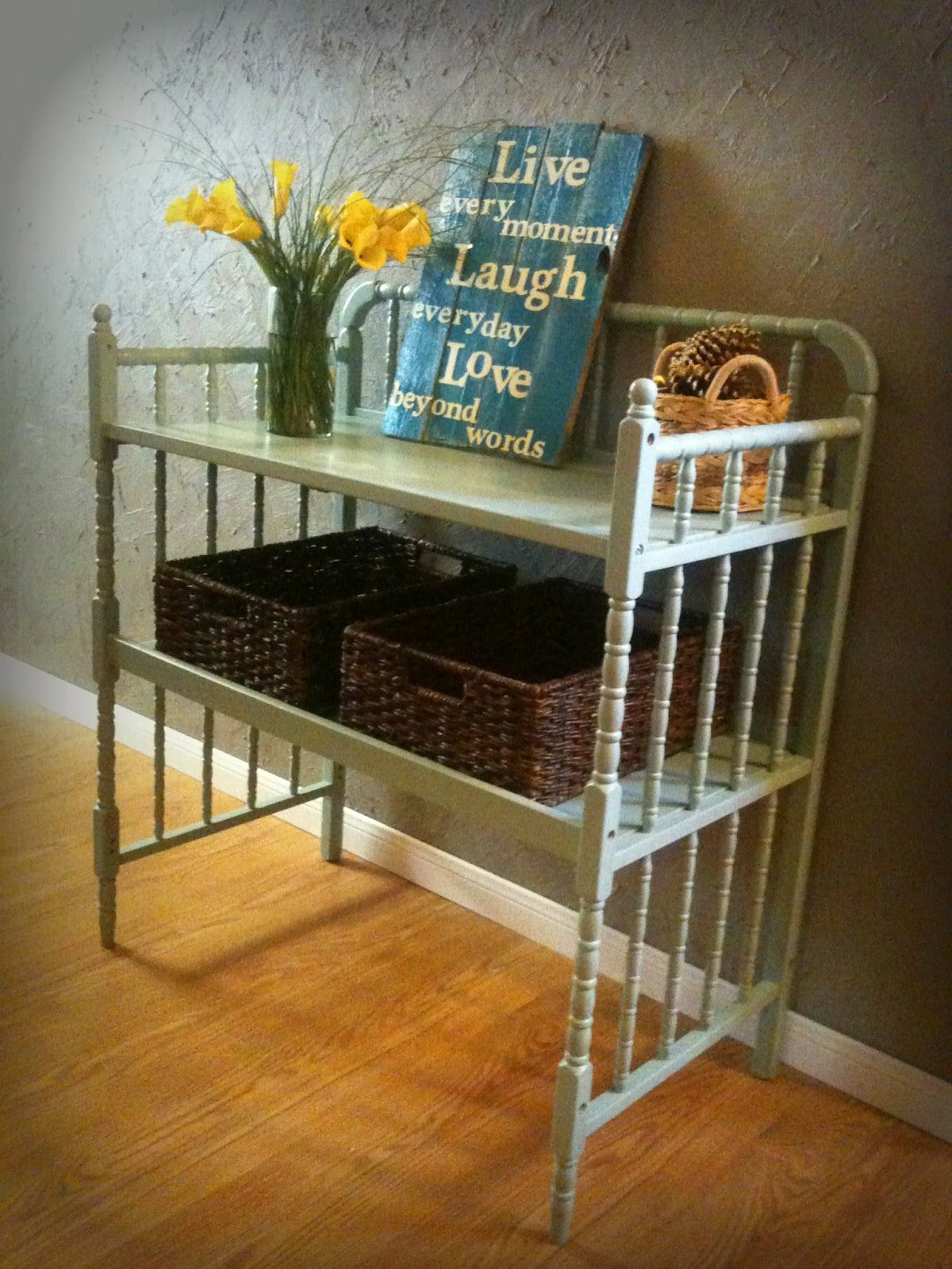 Upcycle Changing Table: http://www.made-2-love.blogspot.com | Reuse ...