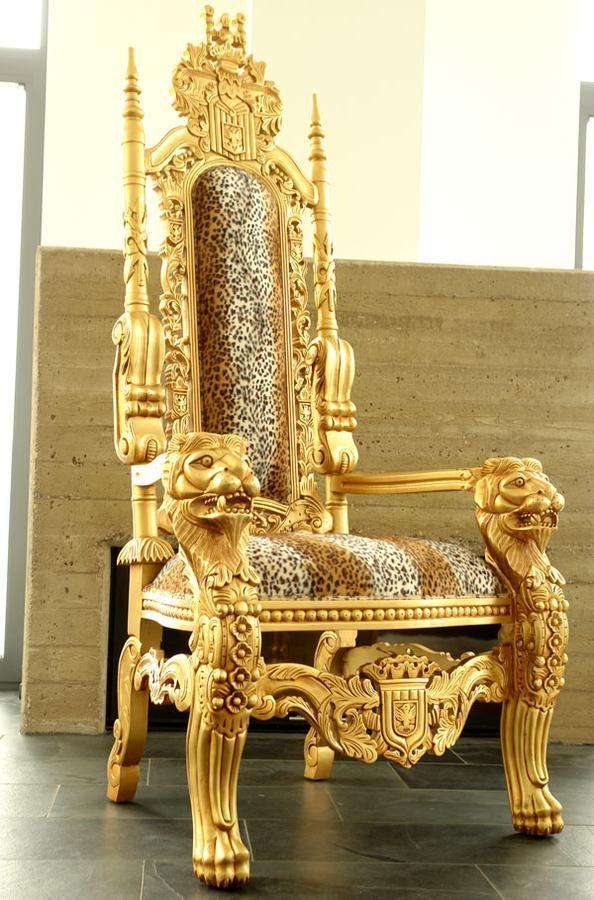 Populaire fauteuil africain |  FAUTEUIL 180cm EN ACAJOU TETES DE LION  MX75