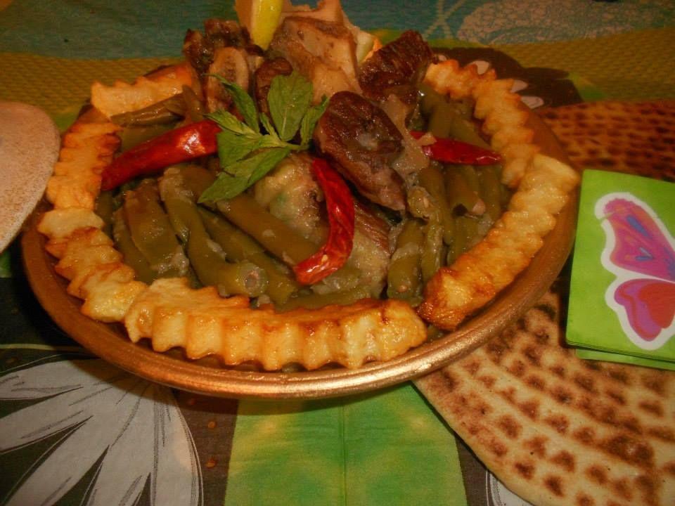 Loubia machtou haricot vert l gumes pinterest - Cuisiner haricots verts ...