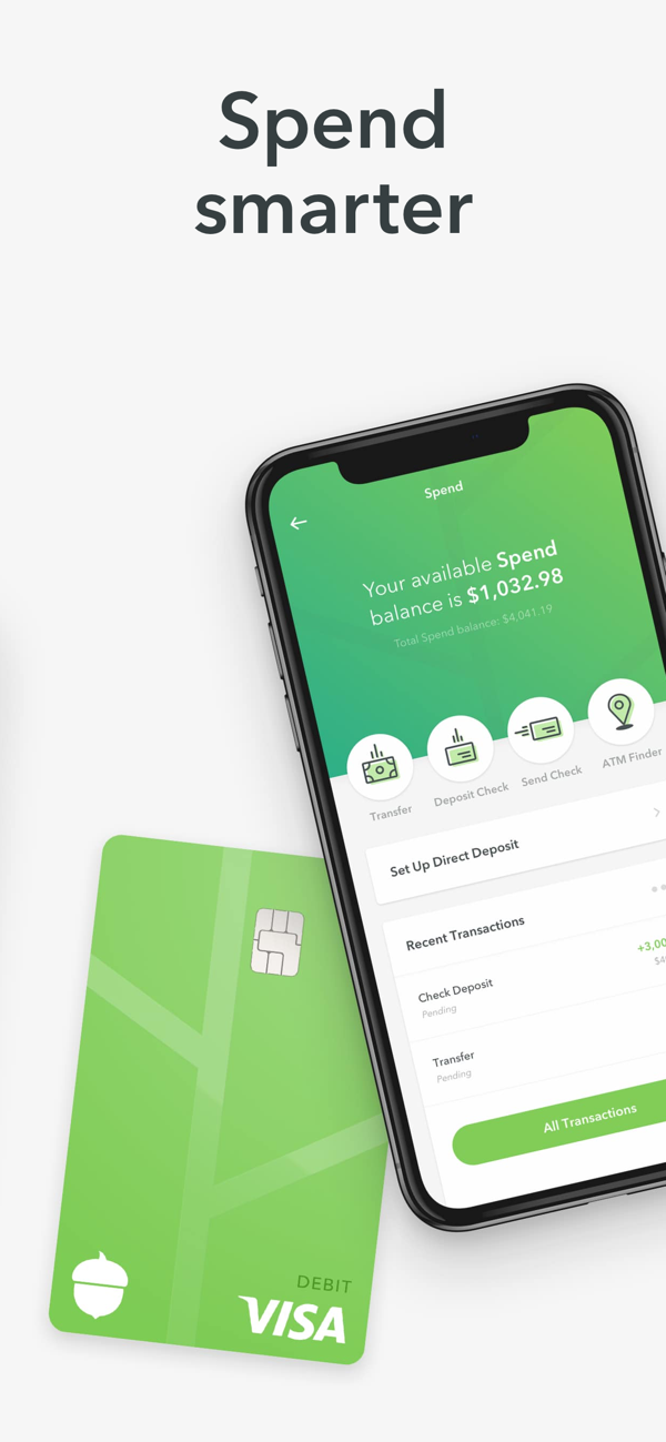 ‎Acorns Invest Spare Change on the App Store in 2020