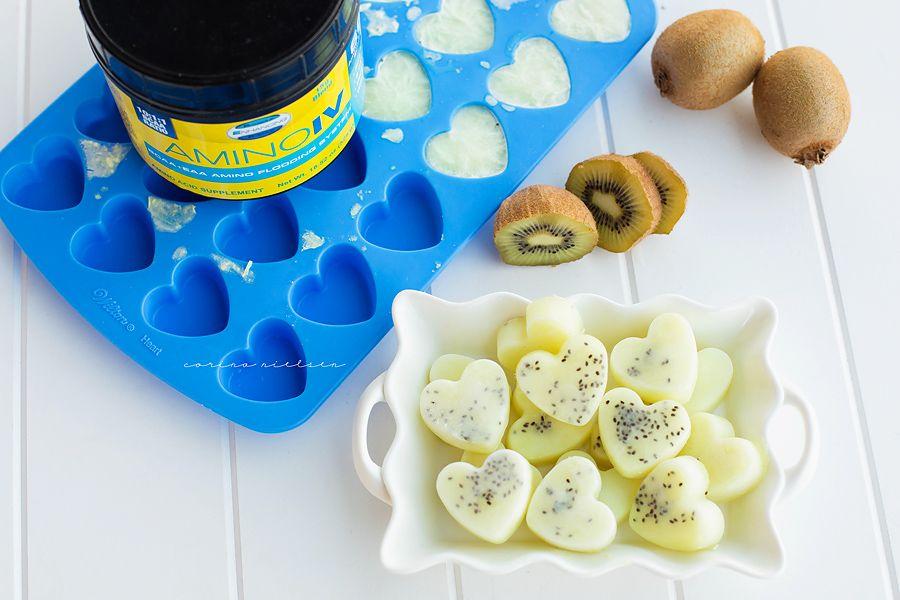 Healthy No Sugar Addedwatermelon Kiwi Bcaa Gummies Corina Nielsen Live Fit Recipe Homemade Gummies Workout Food Healthy Candy