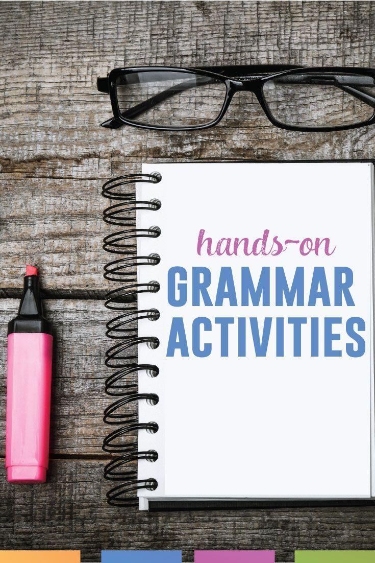 Grammar Manipulations Grammar lessons, Middle school