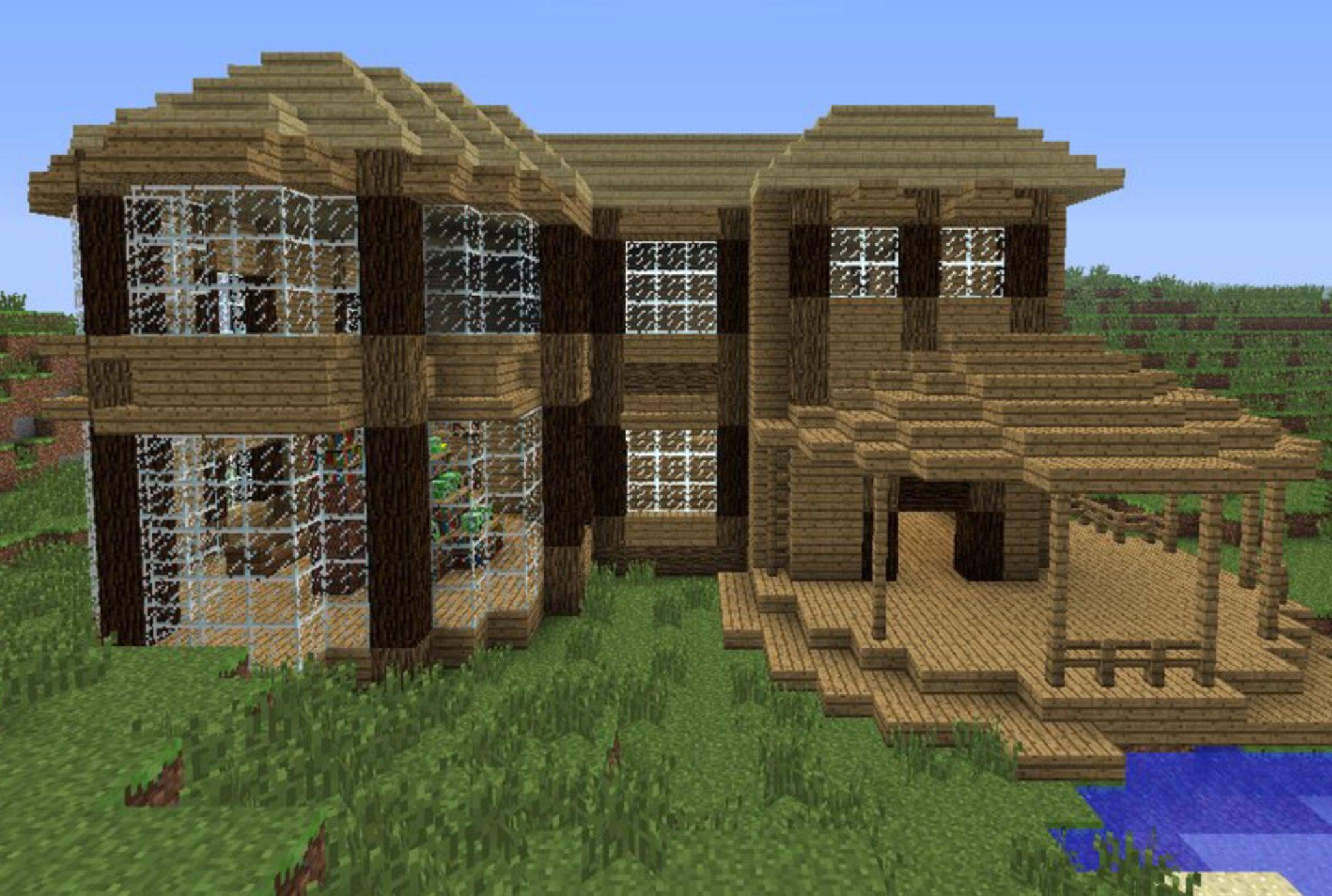 Pin de elbarber37 en Minecraft Casas minecraft