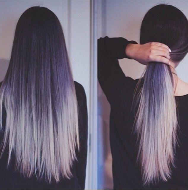 wundervoller farbverlauf hair pinterest haar ideen bunte haare und pastel haare. Black Bedroom Furniture Sets. Home Design Ideas