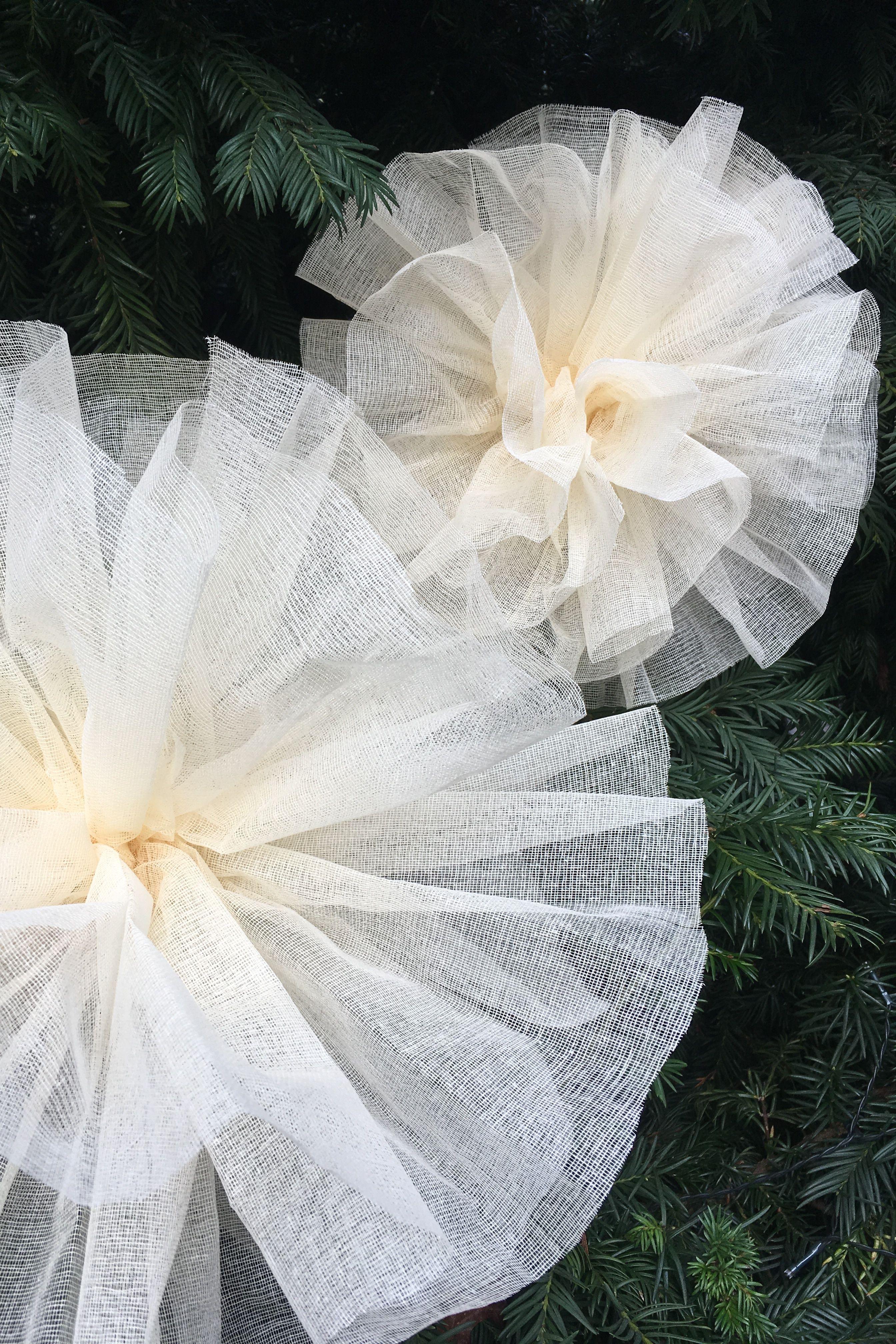 50 Cm De Coton Apprete Largeur 130cm Coloris Ivoire Blanc Gris