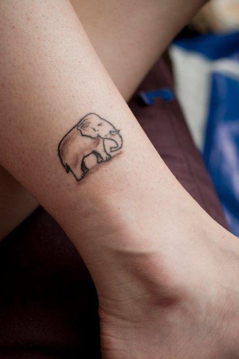 elephant tattoo...