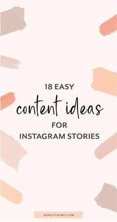 18 Content Ideas for Instagram Stories | Hellohapp