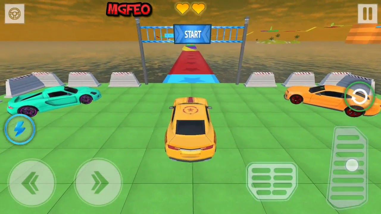 Car Stunt Games 3d Mega Ramp Car Racing 2020 Early Access Easy Mode In 2020 Stunts Car Games Games To Play