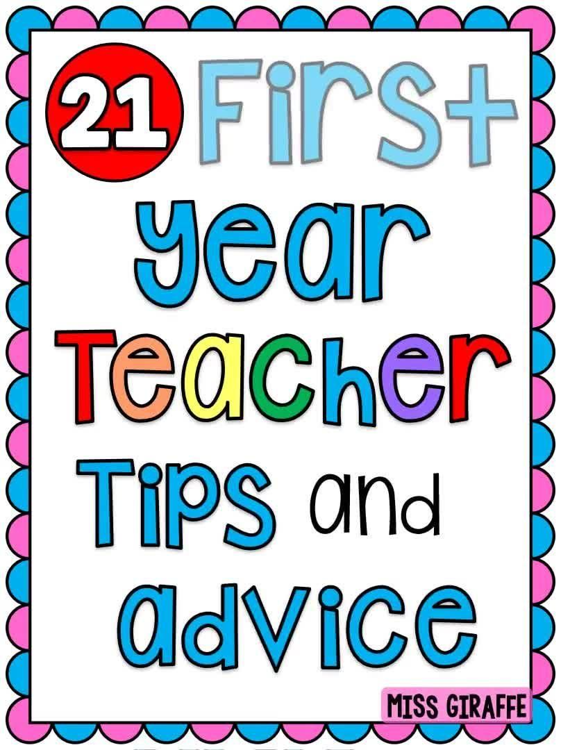 Photo of First Year Teacher Elementary Tips
