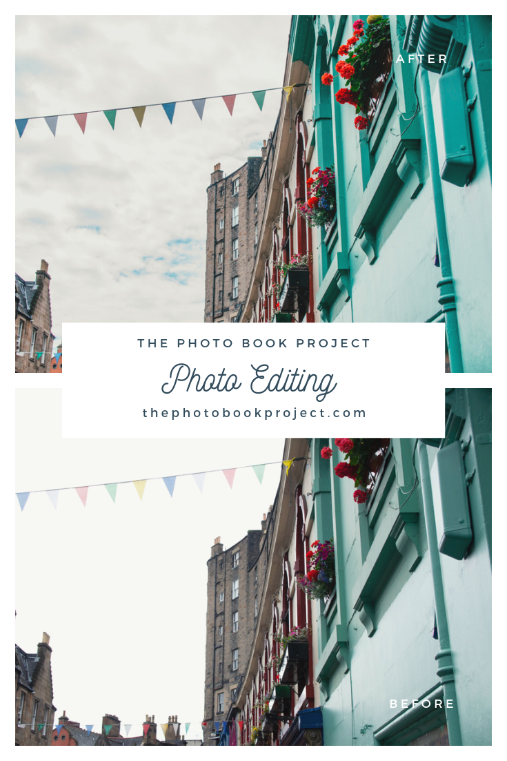 The Edinburgh Project Part One Photo Editing The Photo Book