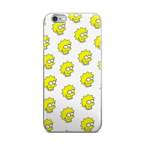 lisa simson coque iphone 6
