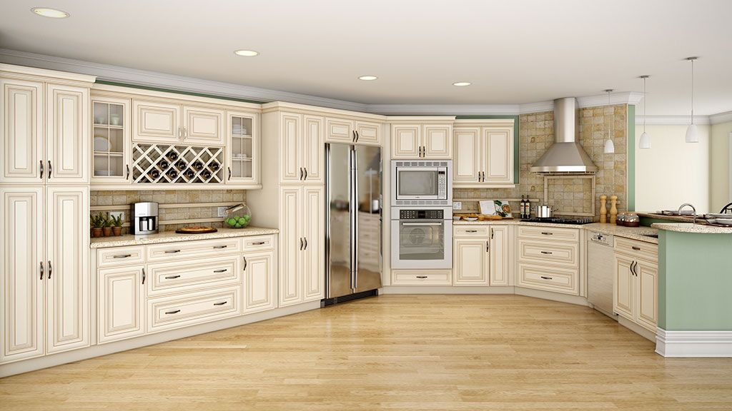 cream glazed kitchen cabinets - Cream Kitchen Cabinet Doors