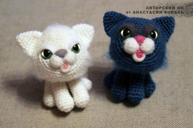 Amigurumi Llavero Gato : Kitty cat amigurumi free crochet pattern tutorial free