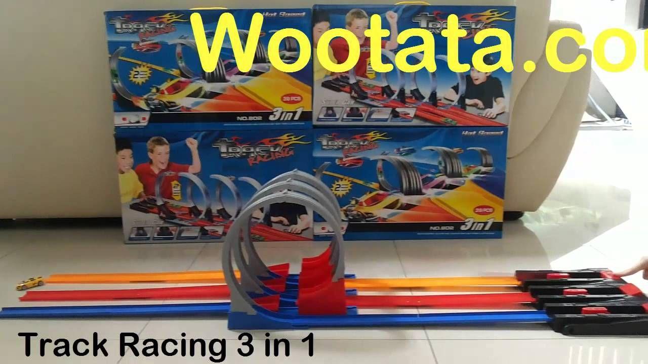 Permainan Mobil Balap 3 Orang Track Racing Racing Toys For Boys Gaming Products