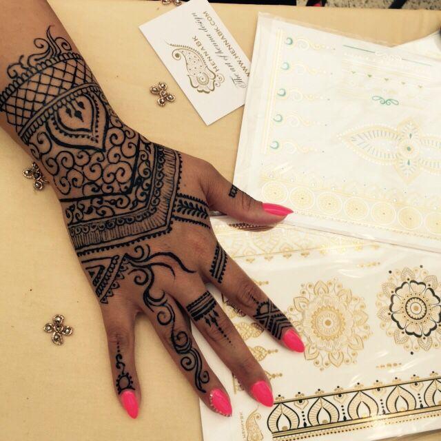 Jagua Henna Tattoo Review: Jagua Gel Tattoo For A Real Tattoo Like Appearance