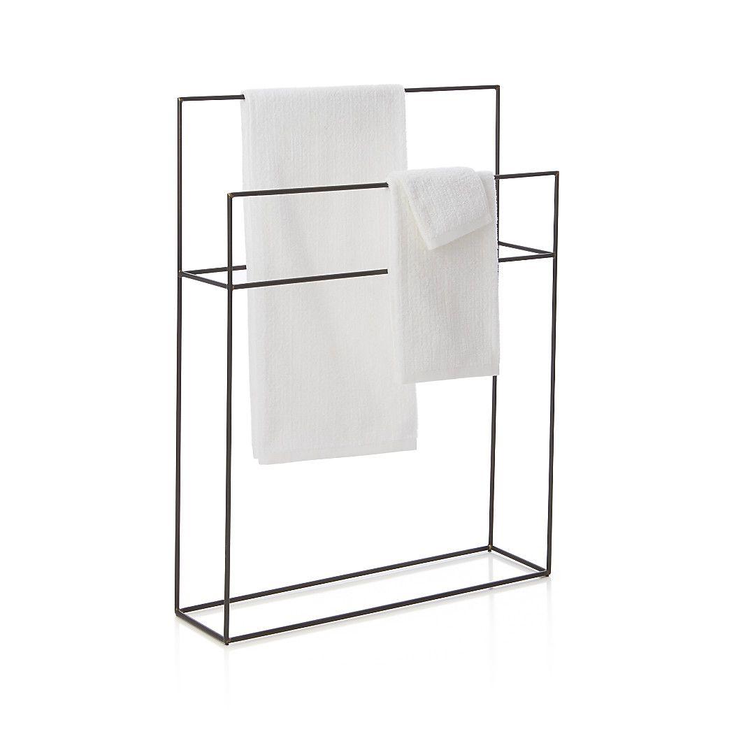 Handdoekrek badkamer - Huisdecoratie | Pinterest - Badkamer ...