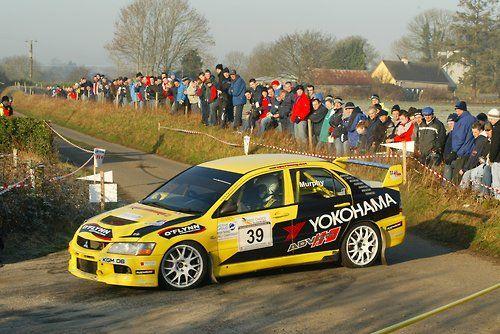 Mitsubishi Evo rally car - Group N