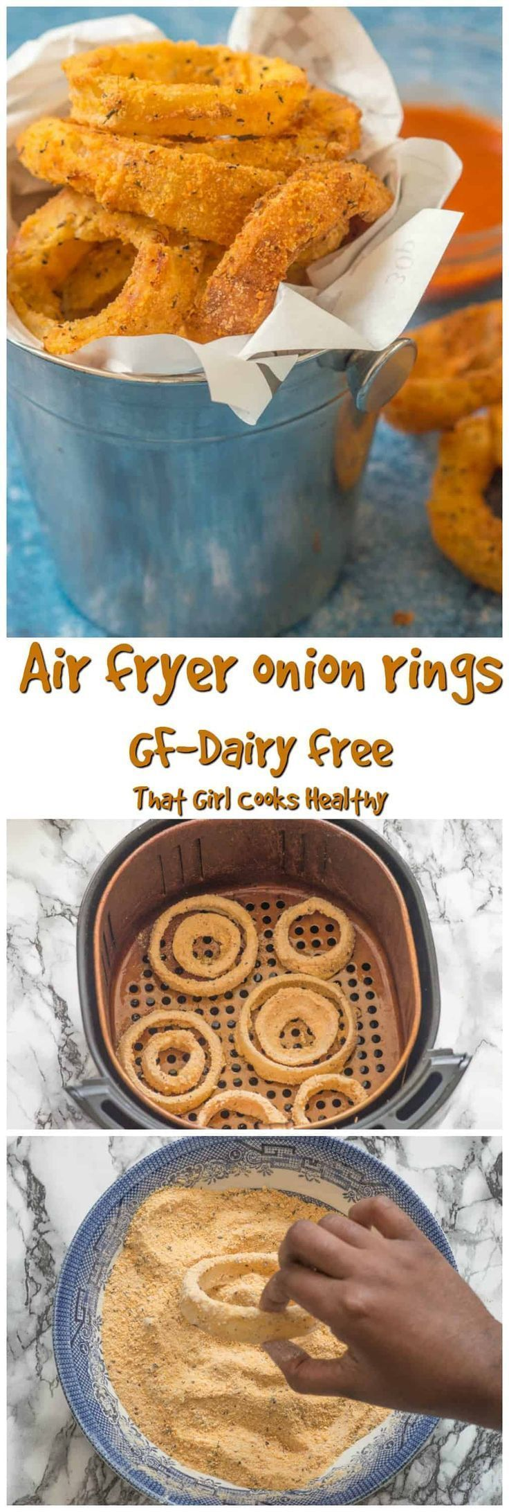 Gluten free air fryer onion rings Recipe Onion rings