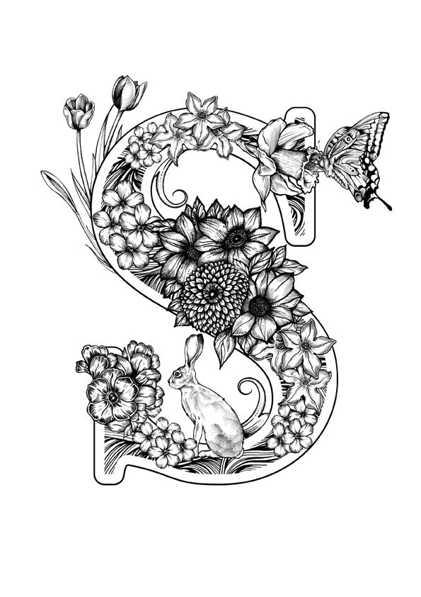 S Is For Spring By Greg Coulton Via Behance