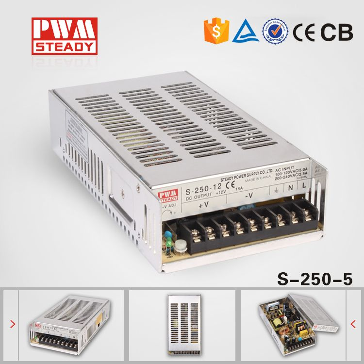 S 250 12 Dc 12v 20a 250w Regulated Switching Power Supply Driver For Led Strip Light Best Selling Led Power Supply Power Supply Circuit Led Strip Lighting