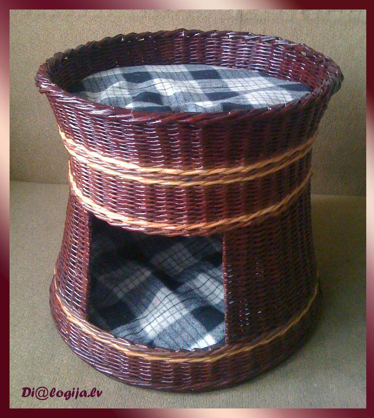 cat house dialogija basketry and wicker pinterest korbflechten und flechten. Black Bedroom Furniture Sets. Home Design Ideas