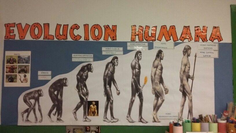 Evolución humana. Proyecto Prehistoria 5 años