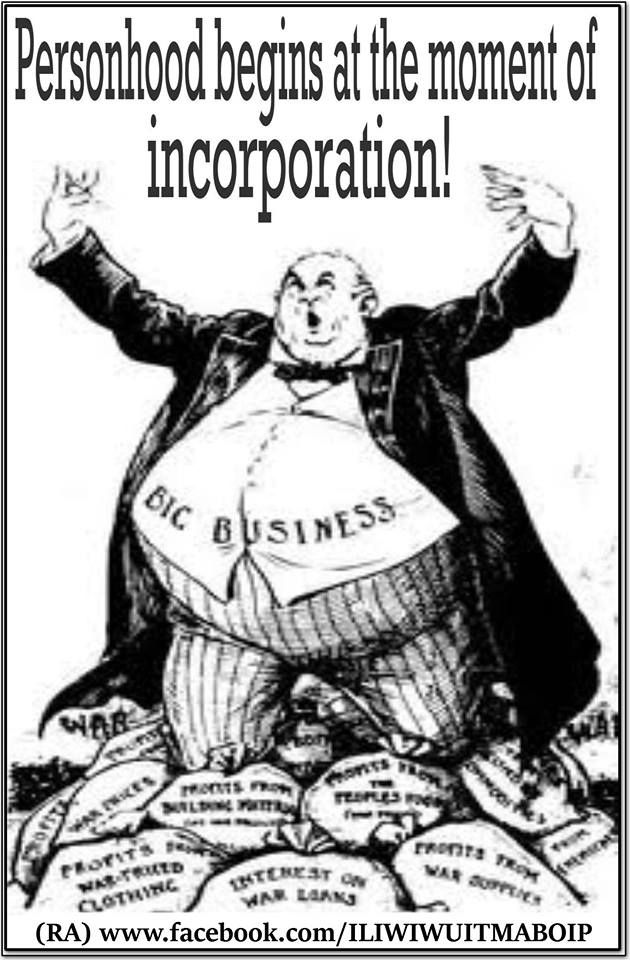 """""""Personhood begins at the moment of incorporation."""" #corporations #Citizens #United"""