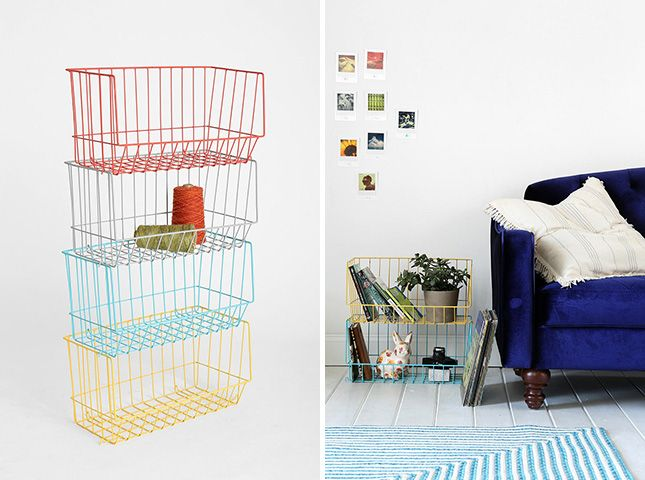 16 Ways to Stash Your Stuff with Style via Brit + Co.