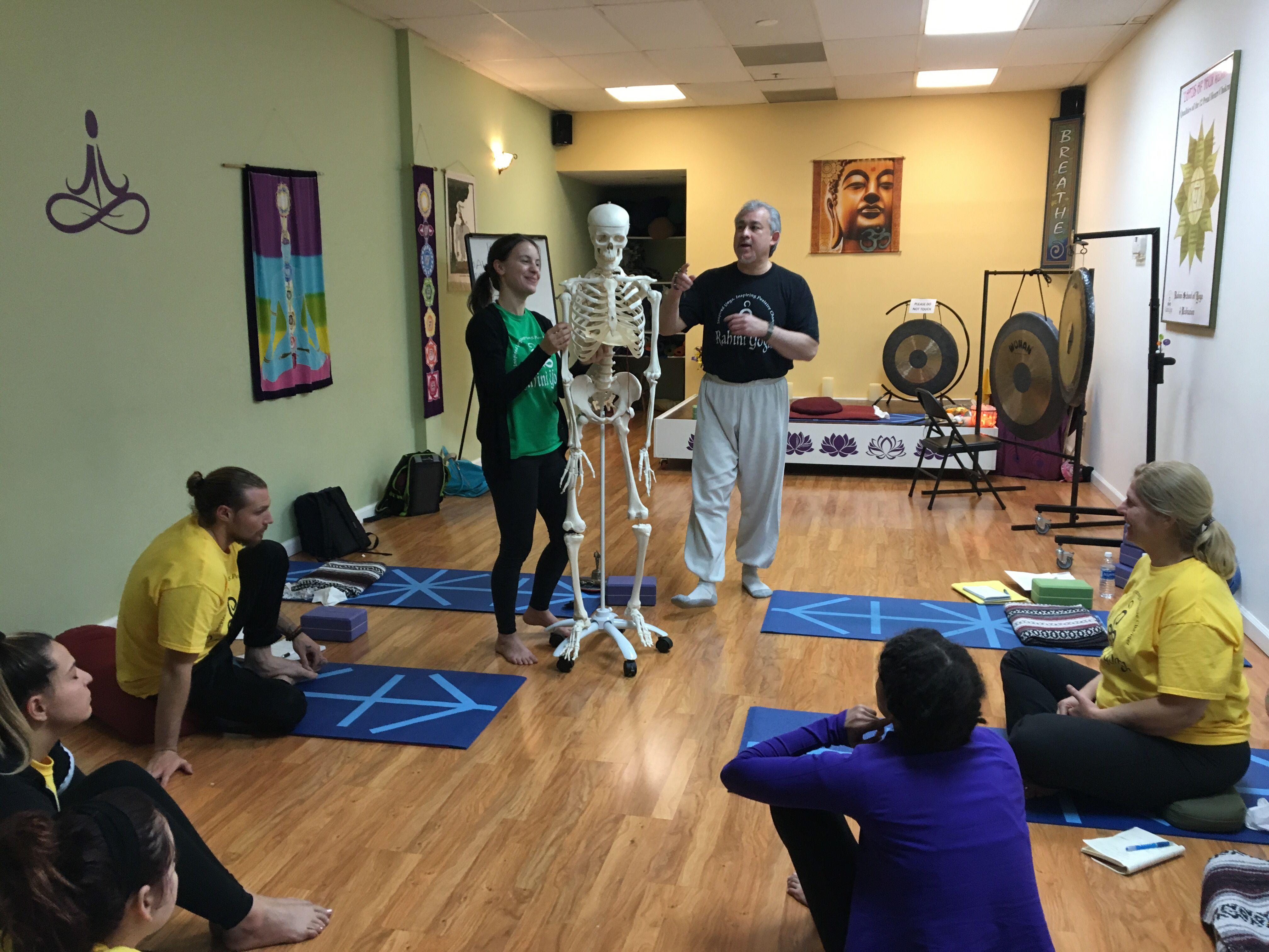 Learning anatomy! (With images) | Yoga teacher training ...