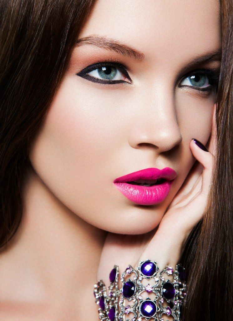Awesome pink #lips