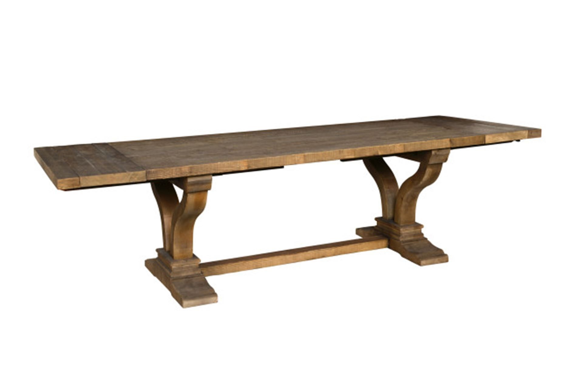 Otb Brown Reclaimed Pine Extension Dining Table | Pine, Dining ...