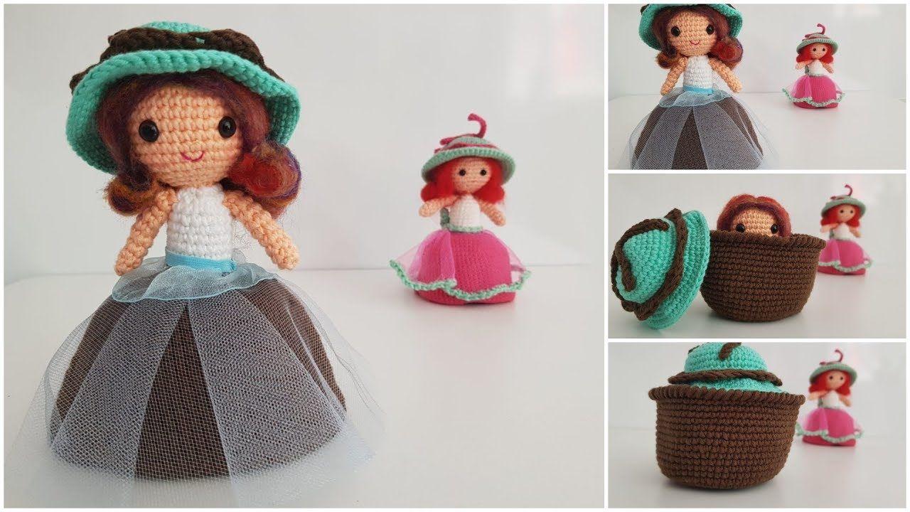 Amigurumi Cupcake Bebek Yapılışı | muñequita | Pinterest | Ropa de ...