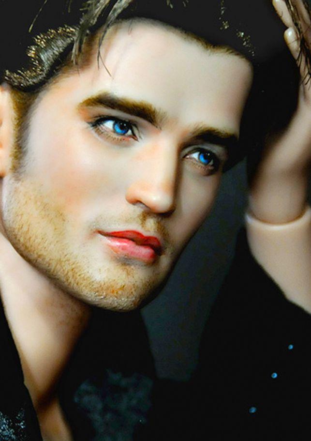 Robert Patterson:  LOSTRINGSATTACHED | Noel Cruz: Celebrity Doll Painter