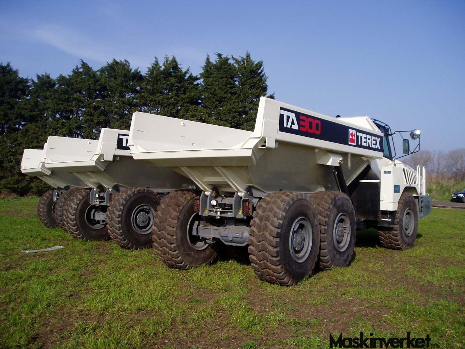 Terex Entreprenadmaskiner / Terex Construction Equipment - http://MaskinVerket.se