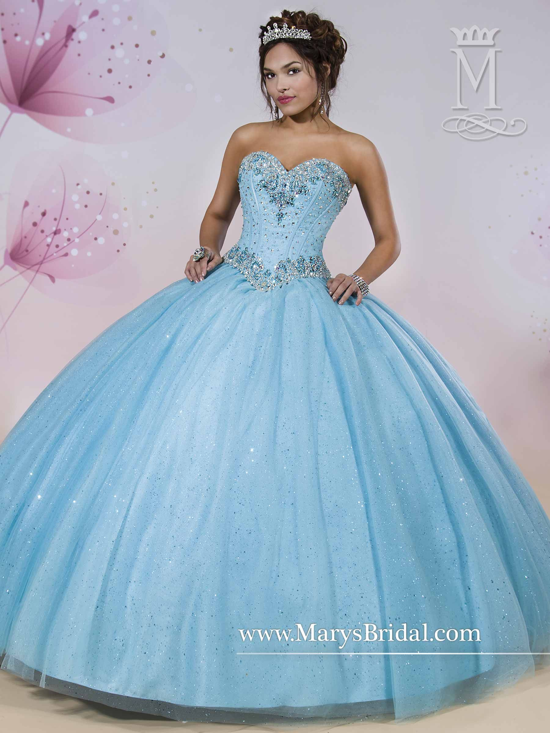 Again, it comes in white. Quinceanera - Princess - Style: 4Q409 by ...