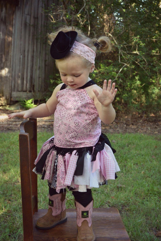 Cowgirl Costume Scrappy Tutu Costume by