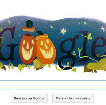 Feliz Halloween 2014 lo celebra Google con un divertido Doodle