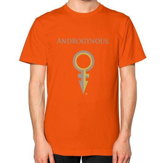 Androgynous Unisex T-Shirt (on man)