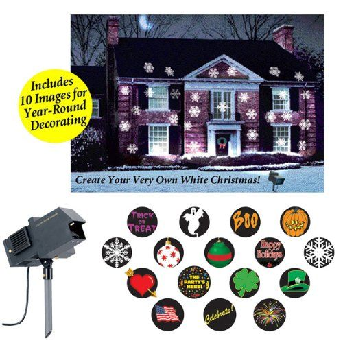 the amazing new christmas all holidays outdoor motion and light projector lighting holidays httpwwwamazoncomdpb00h38ucn2refcm_sw_r_pi_dp - Christmas Outdoor Light Projector