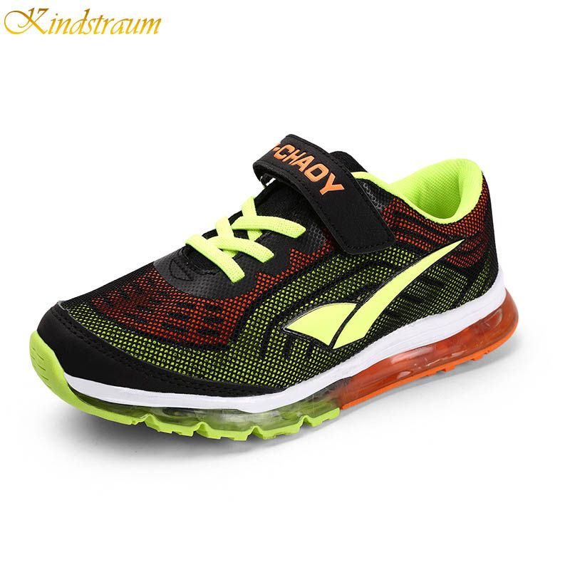 Kindstraum Casual Sports Shoes for Children Spring Antiskid Active Air Mesh Boys Sneakers Kids Shoes Girls, HJ140